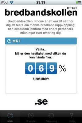 Bredbandskollen app