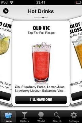 Drinkspiration app