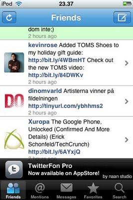 Echofon Twitterfon app