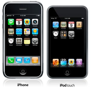 iPhone och iPod touch