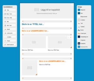 MailerLite:s skapande av nyhetsbrev