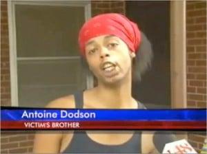 """Antoine Dodson som blev """"autotunad"""" till den virala videon """"Bed Intruder song"""" som sedan klev in på Billboard 100."""