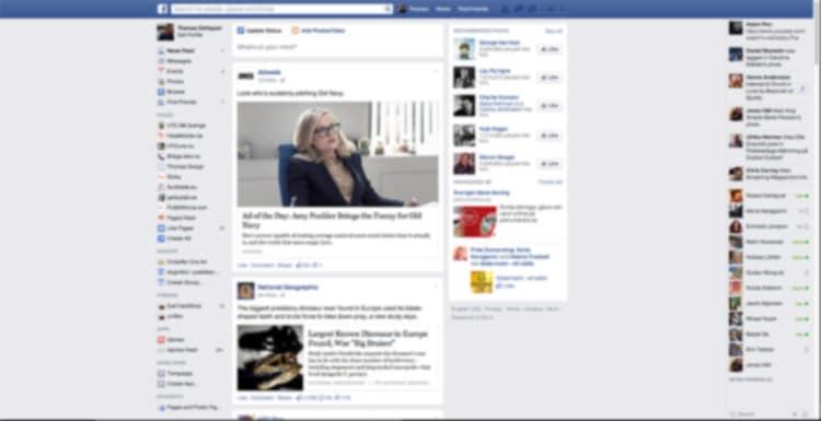 Facebook:s nya design