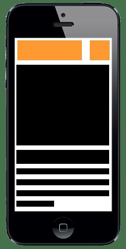 Mobilvänlig webbdesign