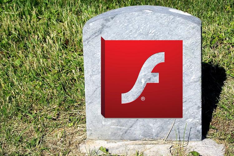 Flash gravsten