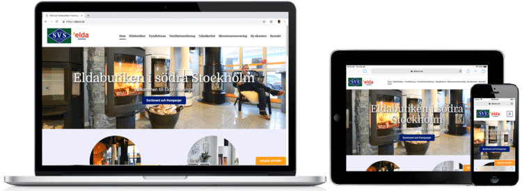 ABSvs.se WordPress-hemsida
