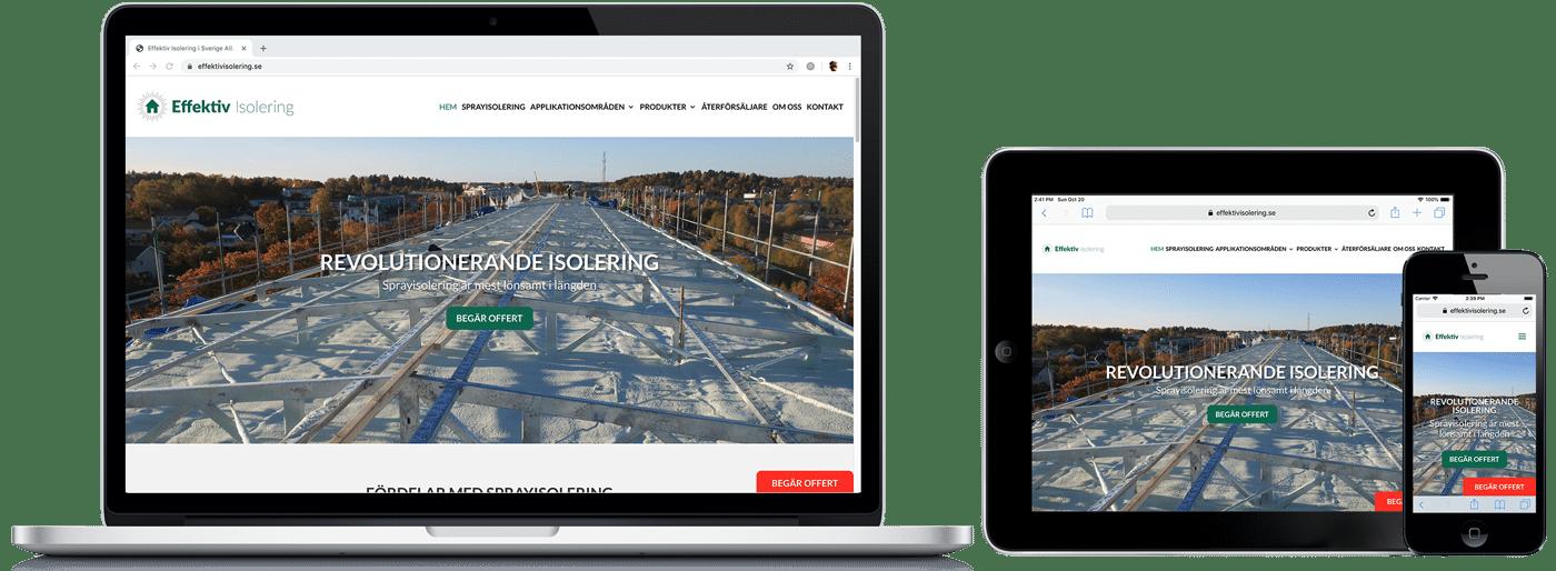 Effektiv isolering WordPress-hemsida